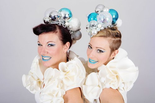 White Bauble Skaters - duo headshot