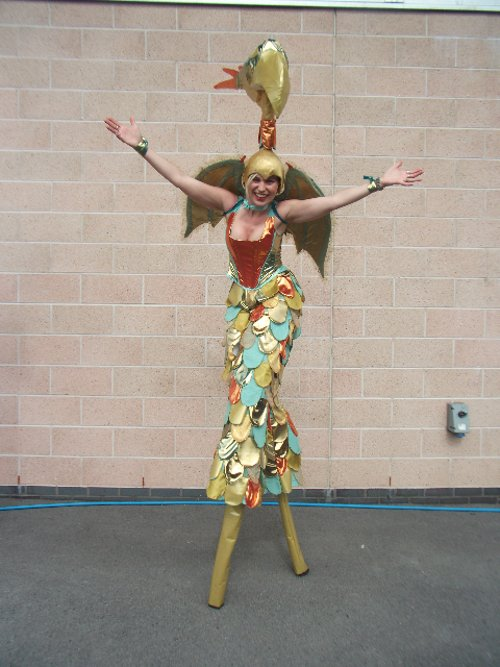 Gold Pheonix Stiltwalker