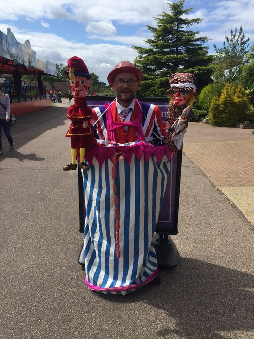walkabout Punch and Judy Booth