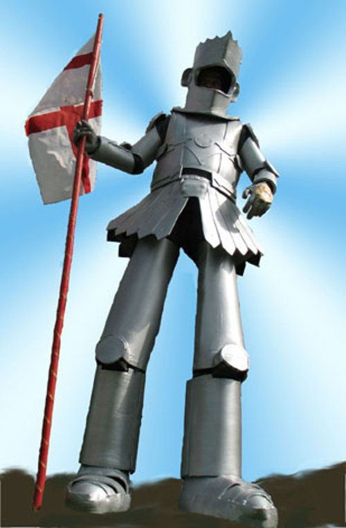 stilt knight - st george