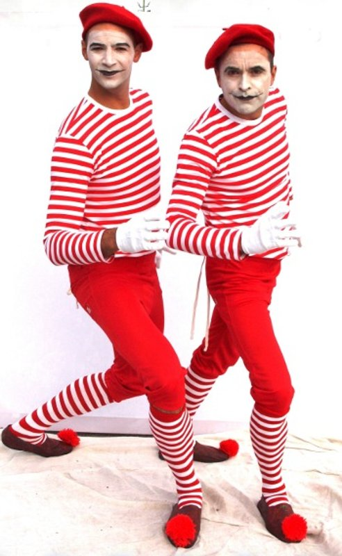 Red Mimes