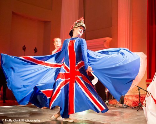 Full Union Jack costume Dancer - Brittania
