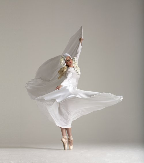 Dancer - White Costume