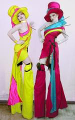 Fashion Stiltwalkers