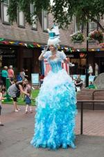nautical theme stiltwalker