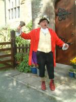 Town Crier ringing his bell