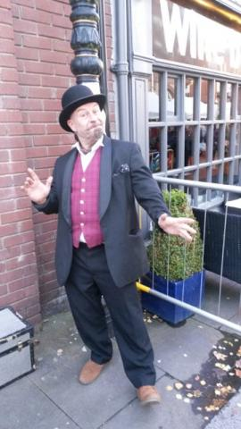 Victorian Character Performer