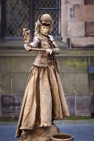 Steampunkt  Copper Lady